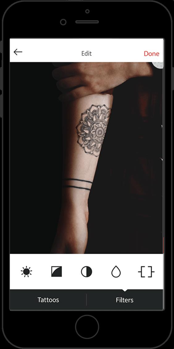 tatoeage uitproberen