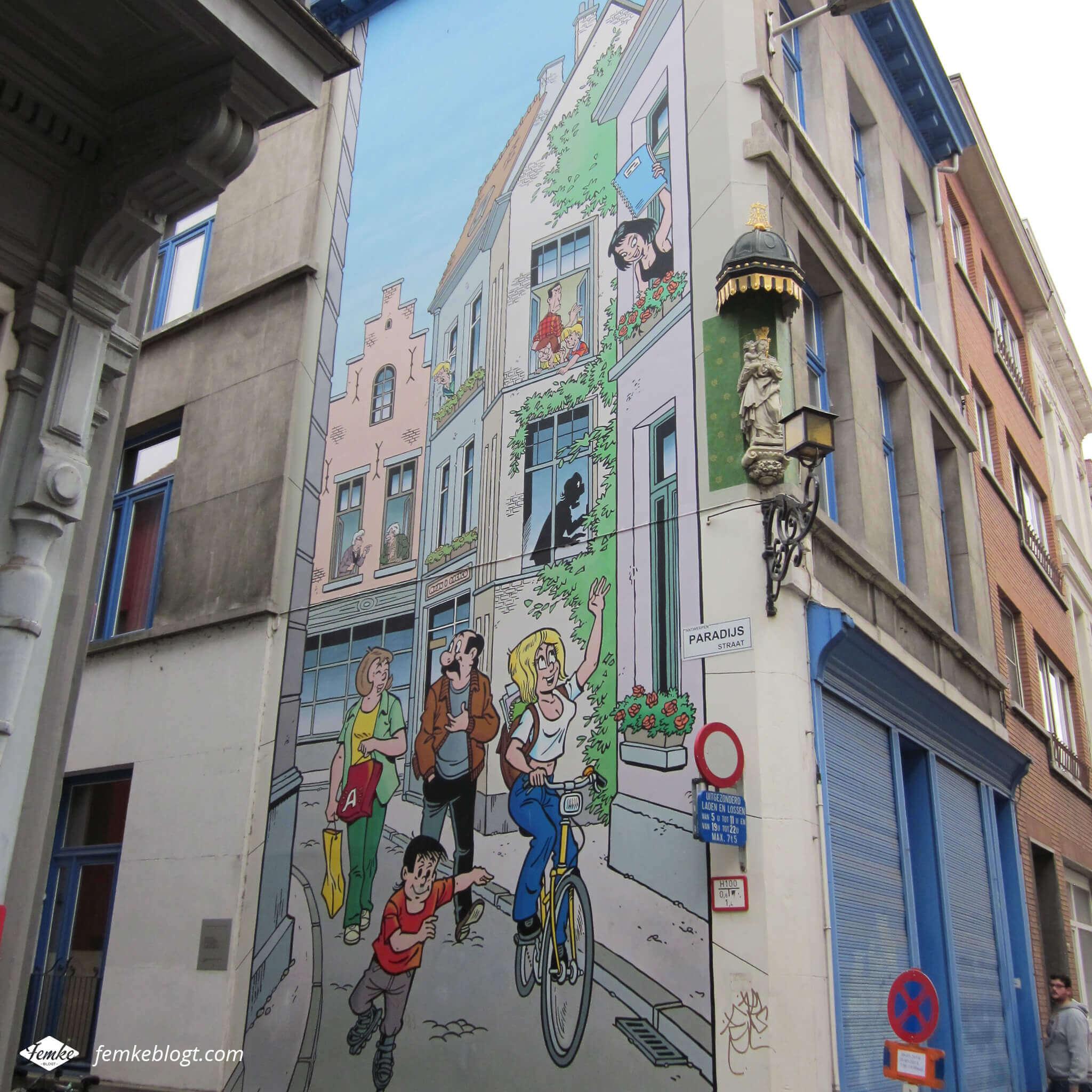 Streetart Antwerpen