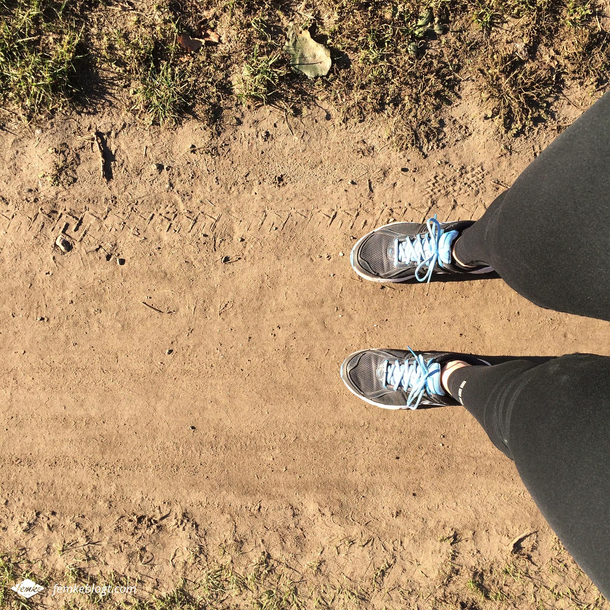 Oktober - Hardlopen in de zon