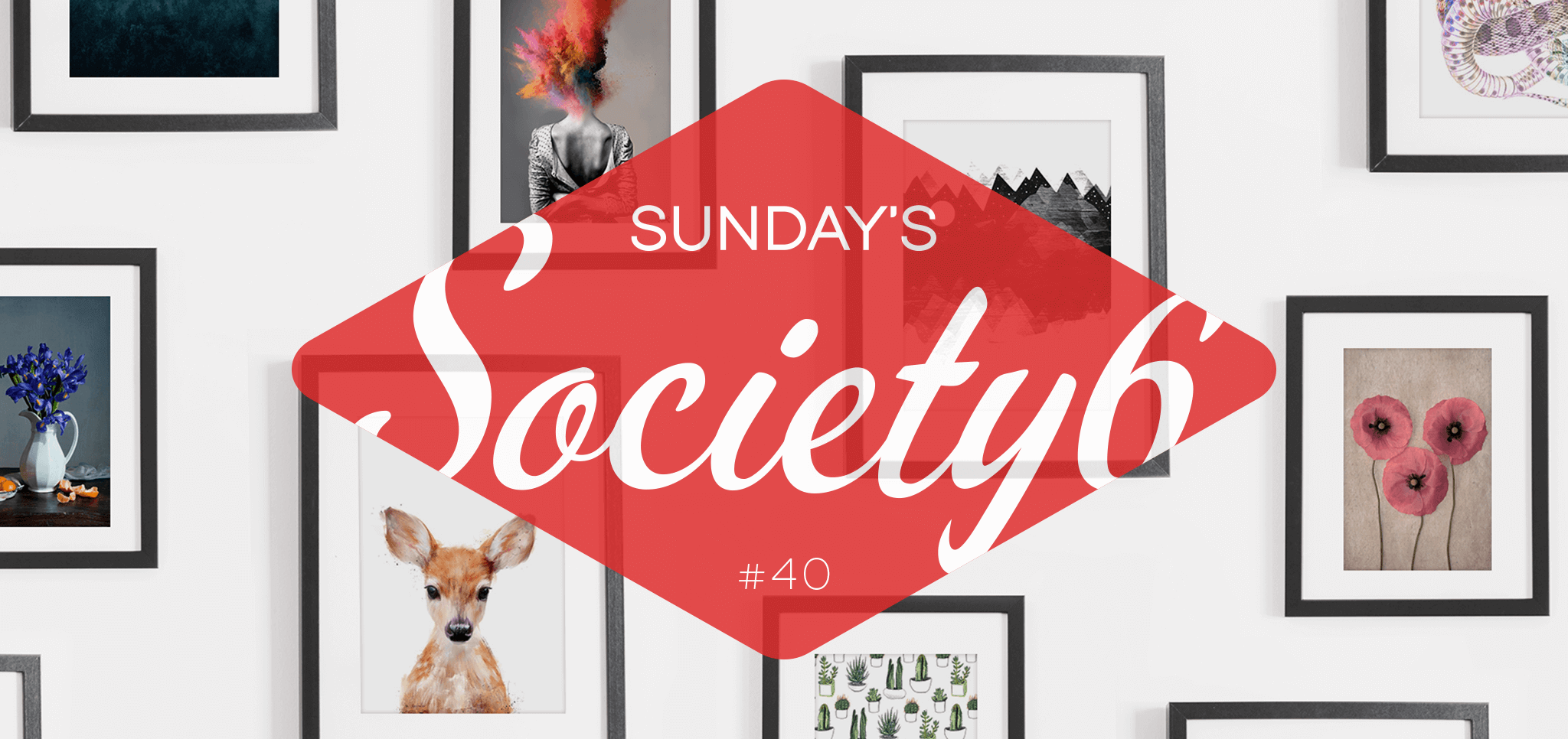 Sunday's Society6 #40 | Vogels