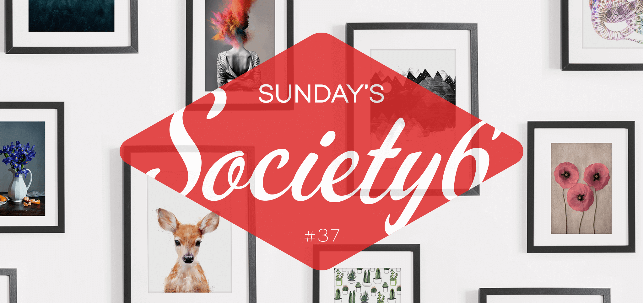 Sunday's Society6 #37 | Winter wonderland
