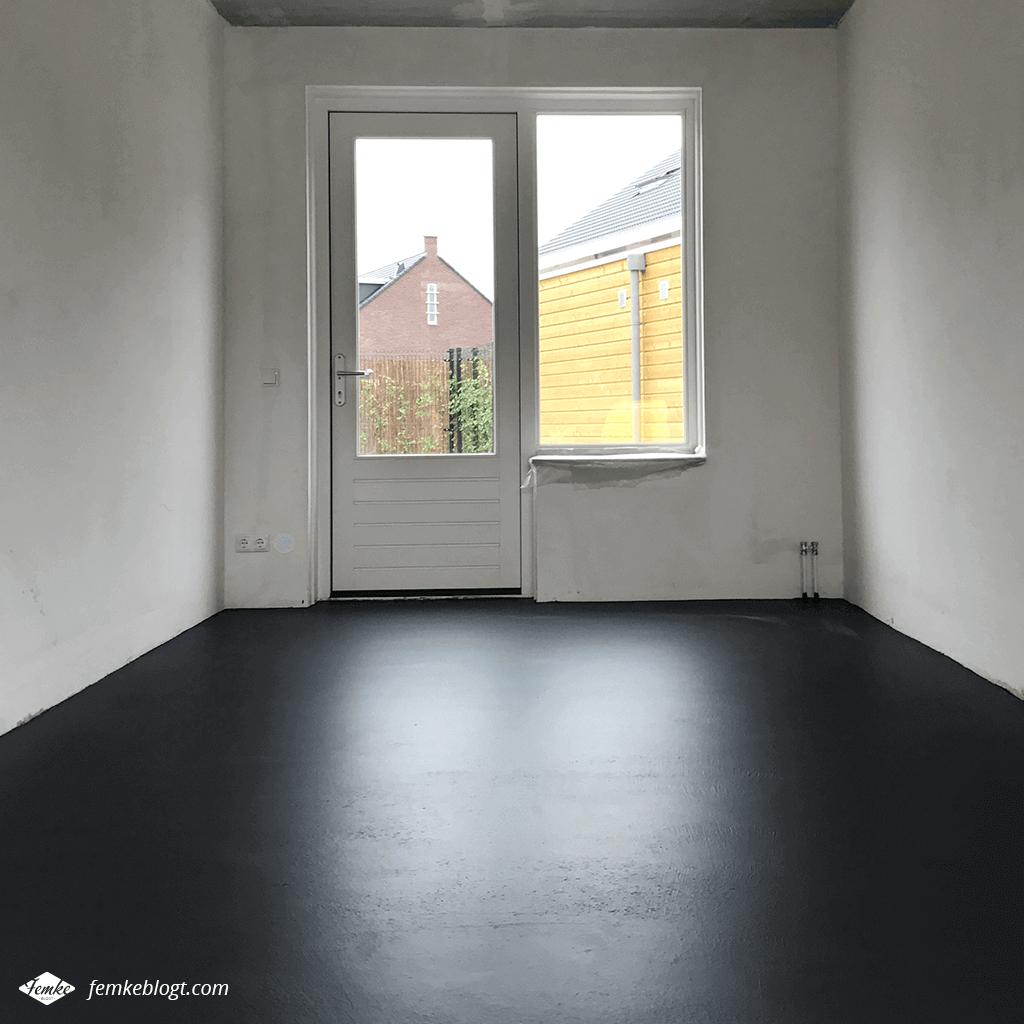 Maandoverzicht juni | Project garagevloer schilderen