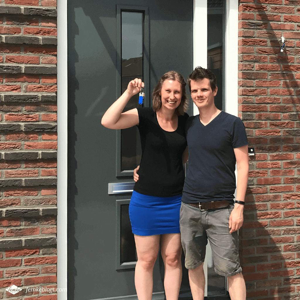 Maandoverzicht juni | Oplevering huis, we hebben de sleutel!