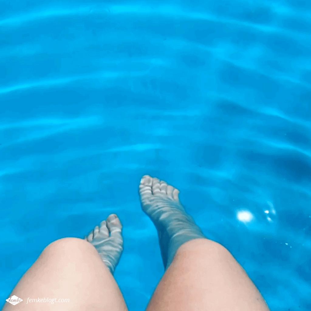 Maandoverzicht mei | Chillen bij het zwembad
