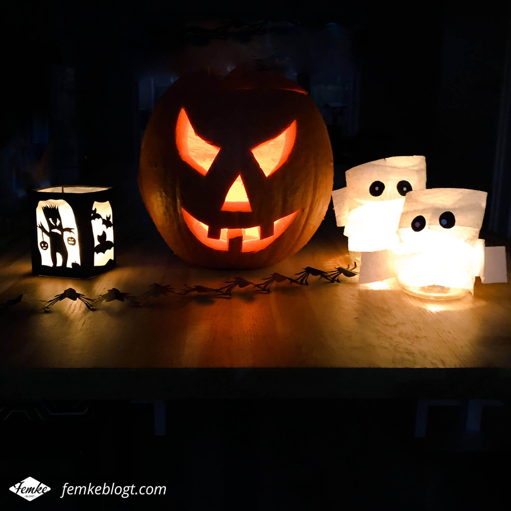 Maandoverzicht oktober | DIY Halloween decoratie