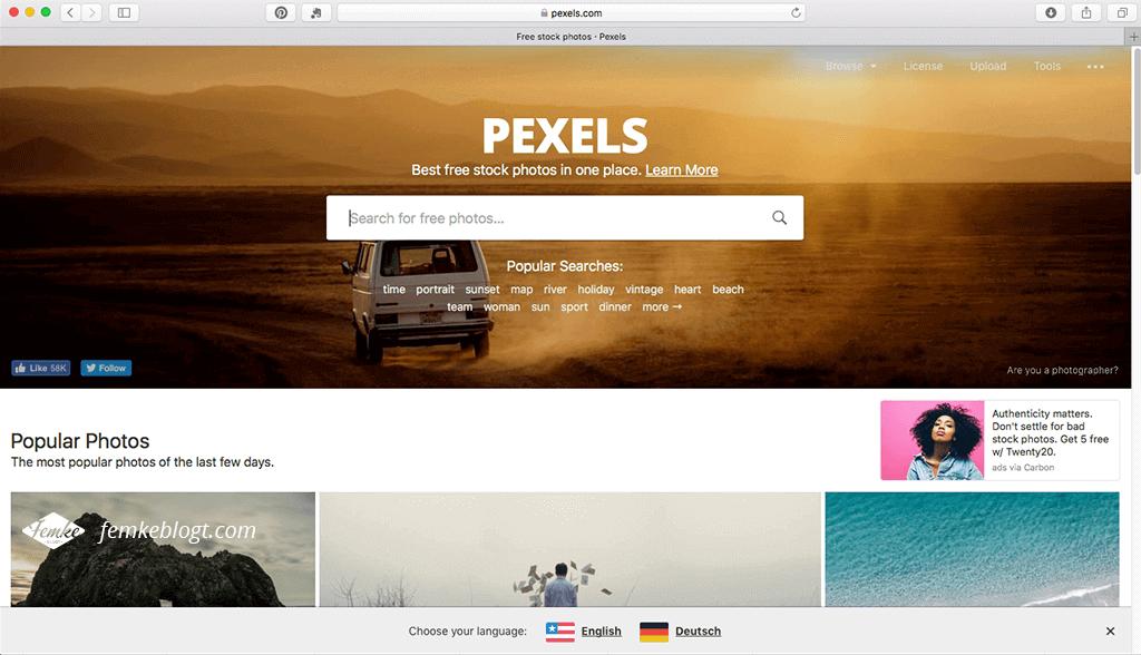 4 Gratis stockfoto sites | Pexels