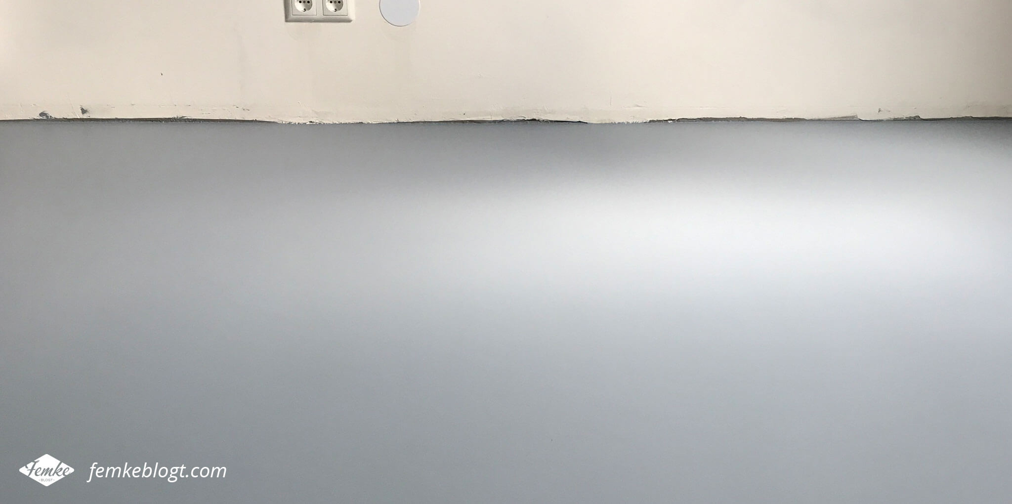 DIY budget gietvloer