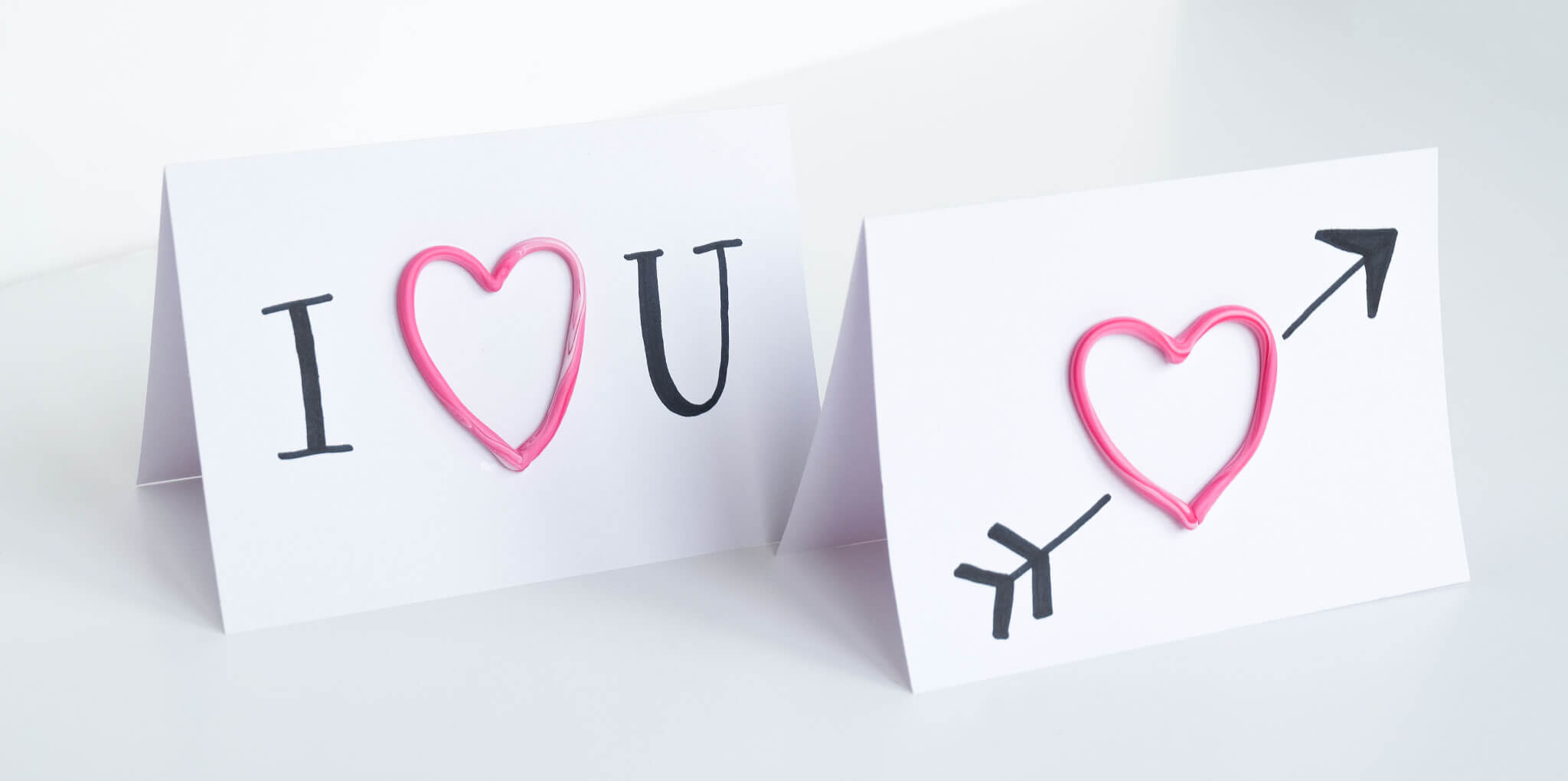 DIY valentijnshartjes van FIMO klei | Maak 3D kaarten voor Valentijnsdag met FIMO klei