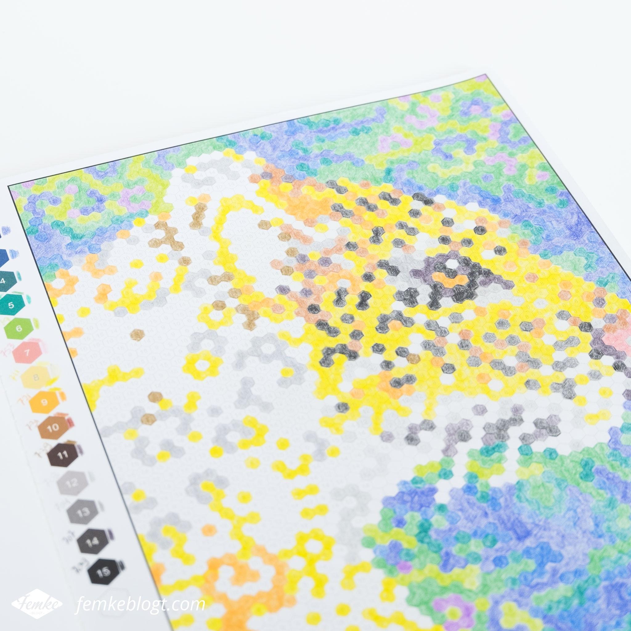 Kleuren op nummer   Deze kleurplaat wordt een tijger.