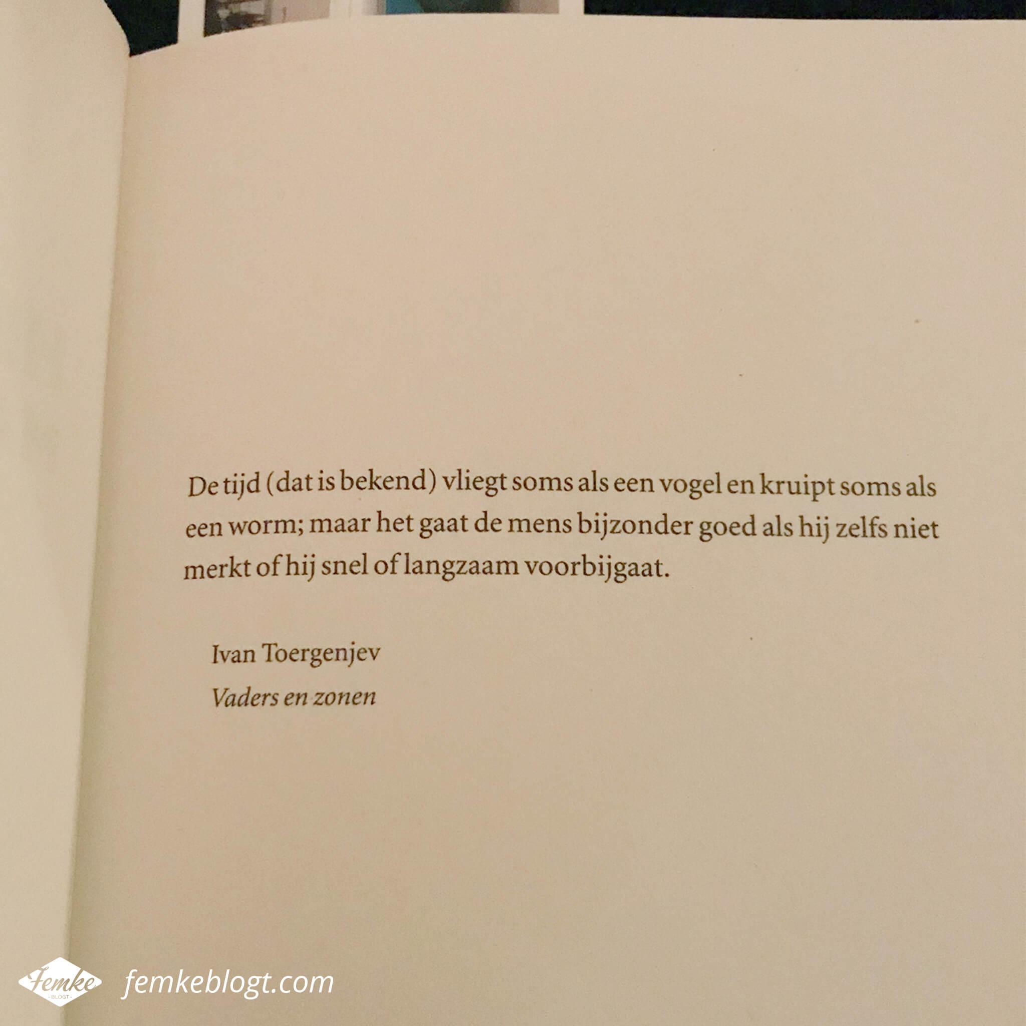 Maandoverzicht februari | Mooie quote in boek