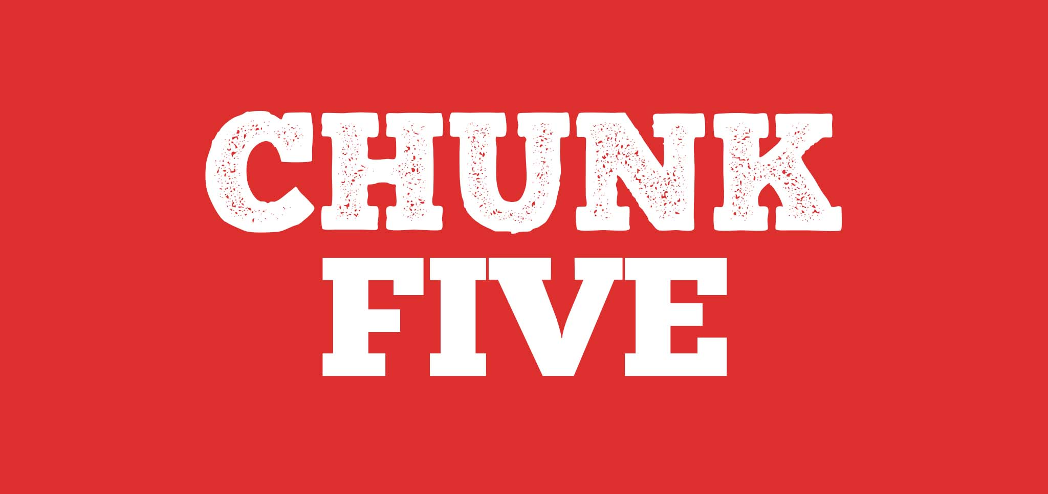21 gratis stoere lettertypes - Chunk Five