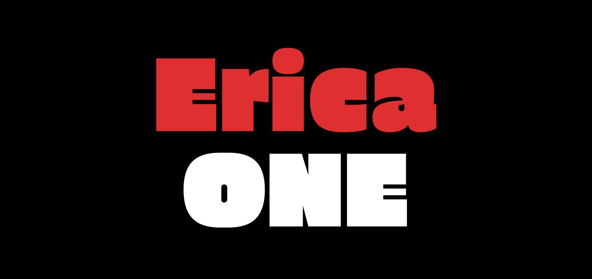 21 gratis stoere lettertypes - Erica One