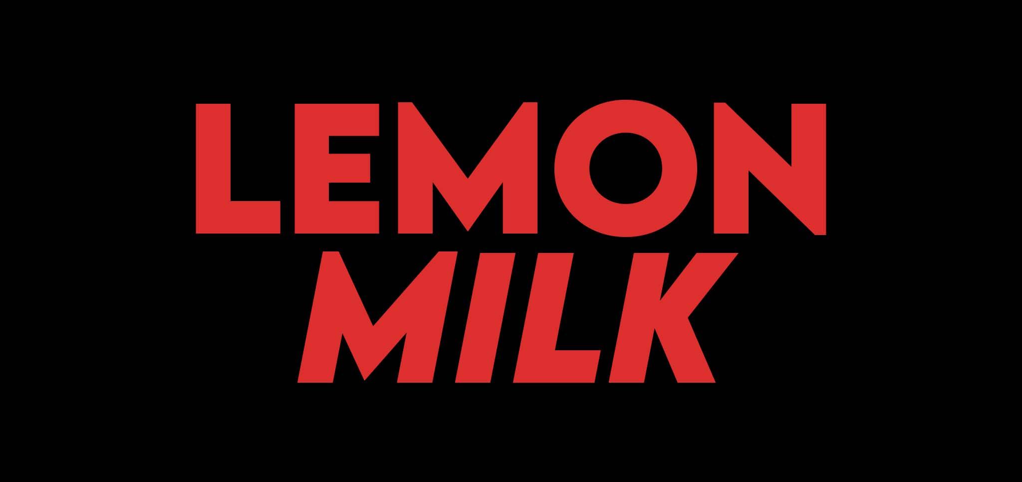 21 gratis stoere lettertypes - Lemon Milk