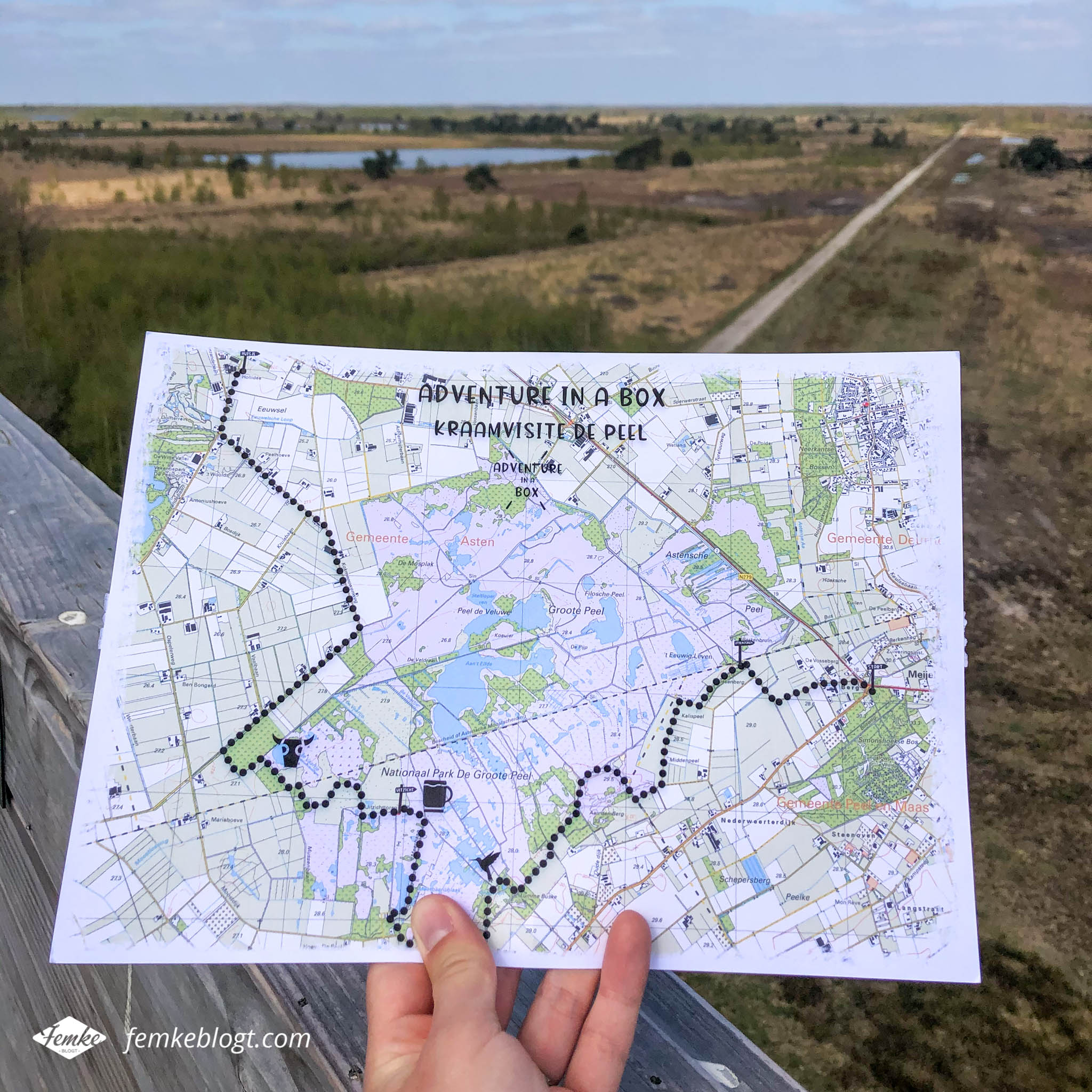 Adventure in a Box - Wandelroute
