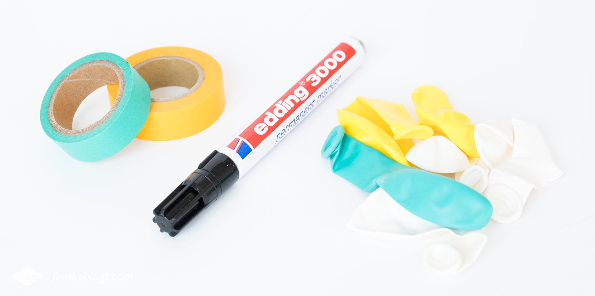 DIY   Ballonnen versieren