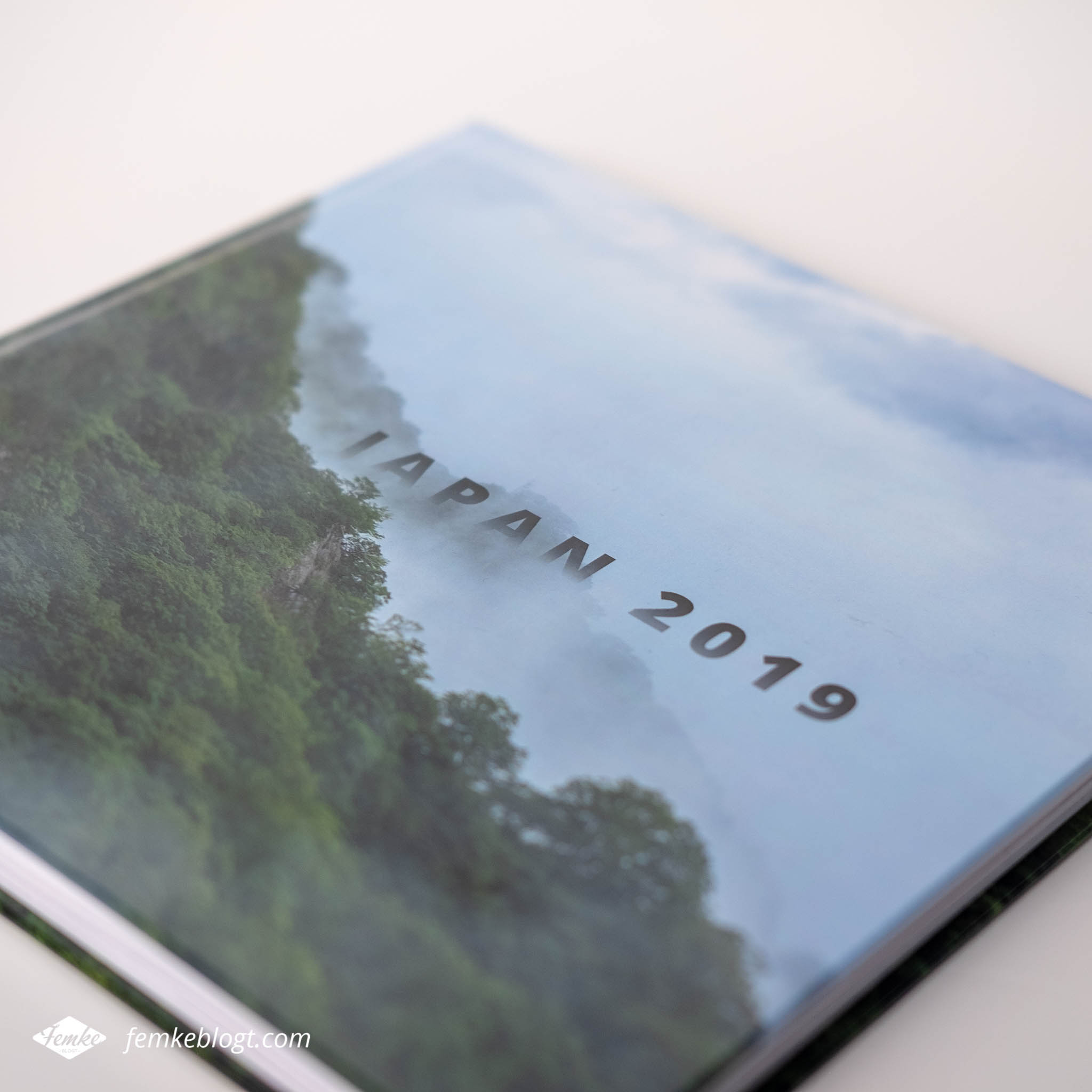 Fotoboek Japan voorkant