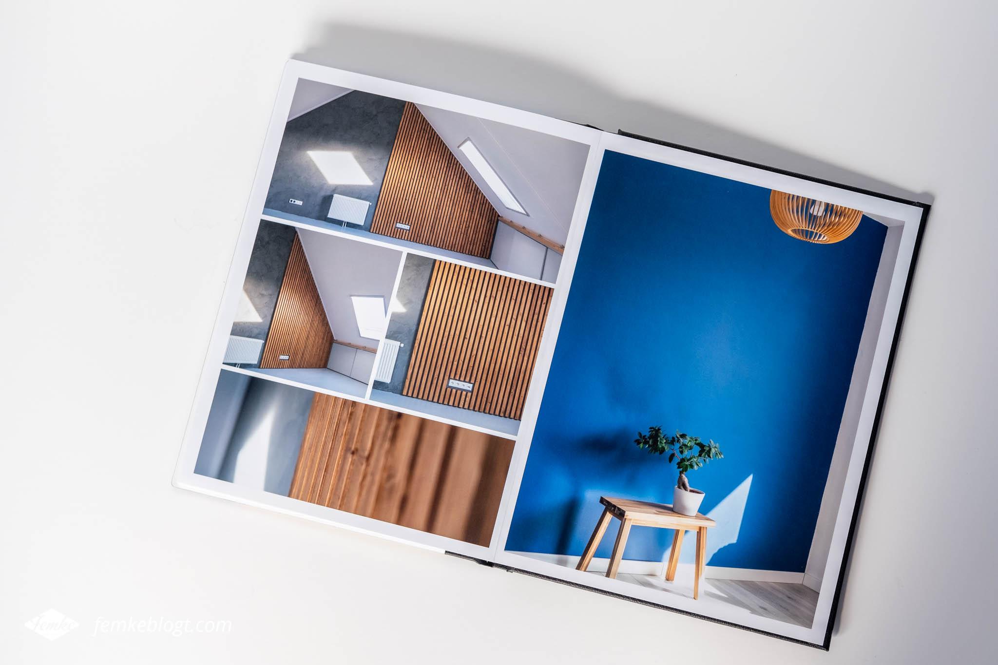 Binnenzijde Professional Line fotoboek