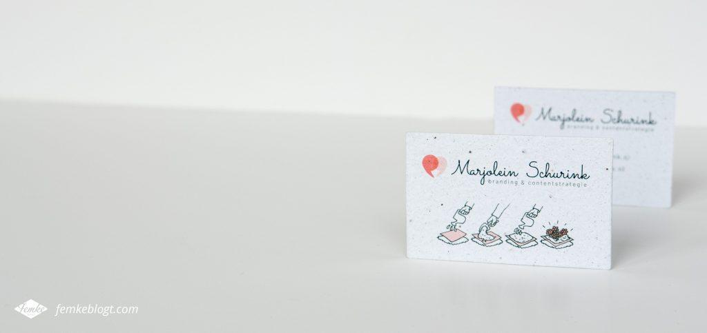 Logo & huisstijl ontwerp Marjolein Schurink