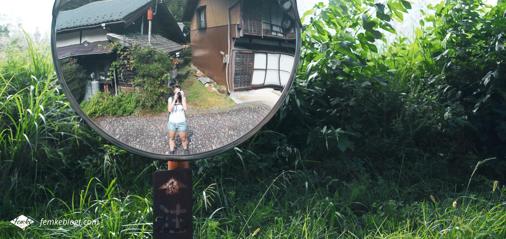 Nakasendo trail selfie