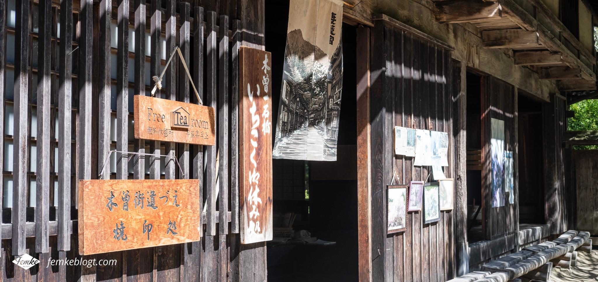 Nakasendo trail theehuis