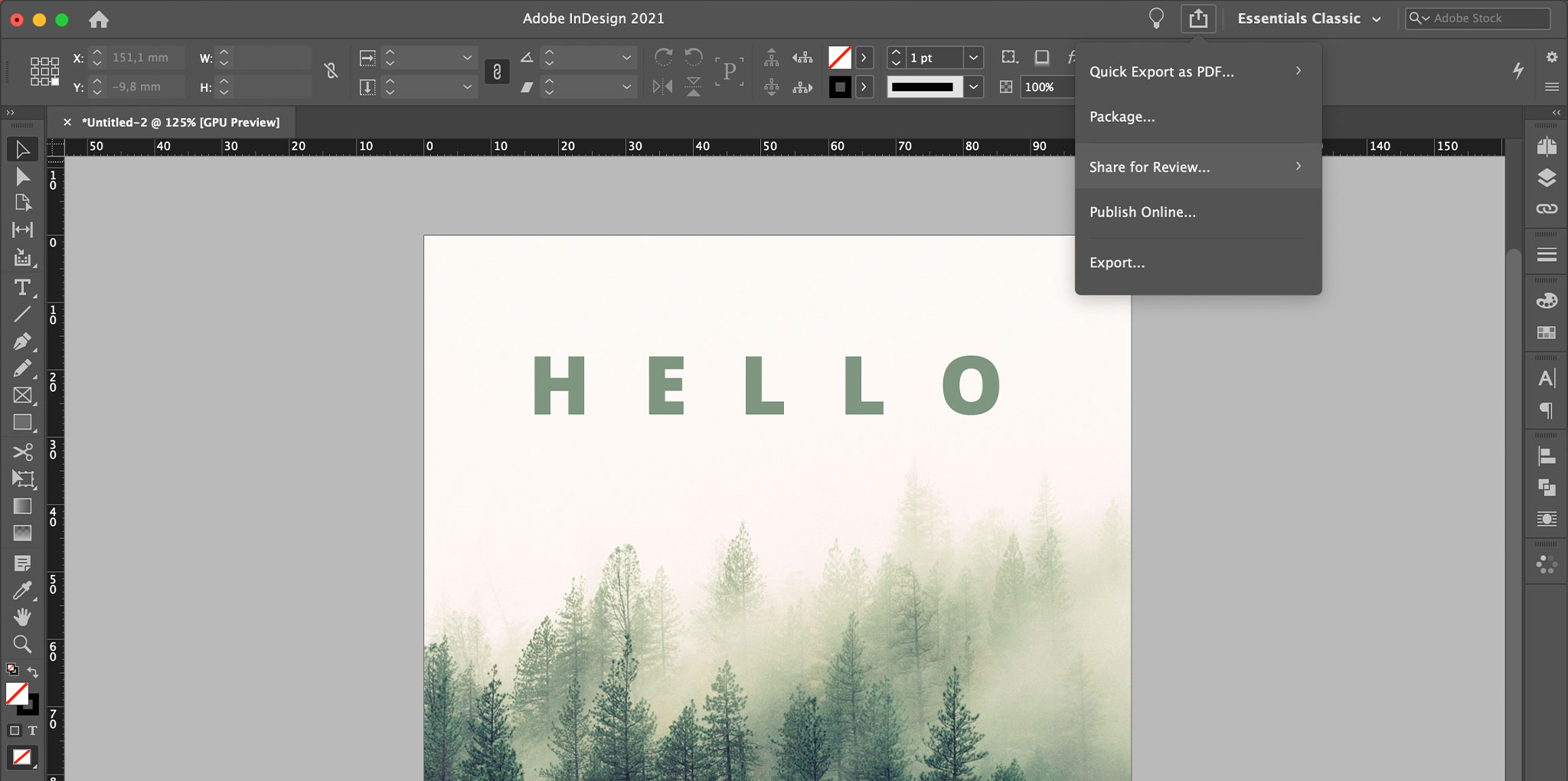 Nieuwe features Adobe 2021 - Share for review