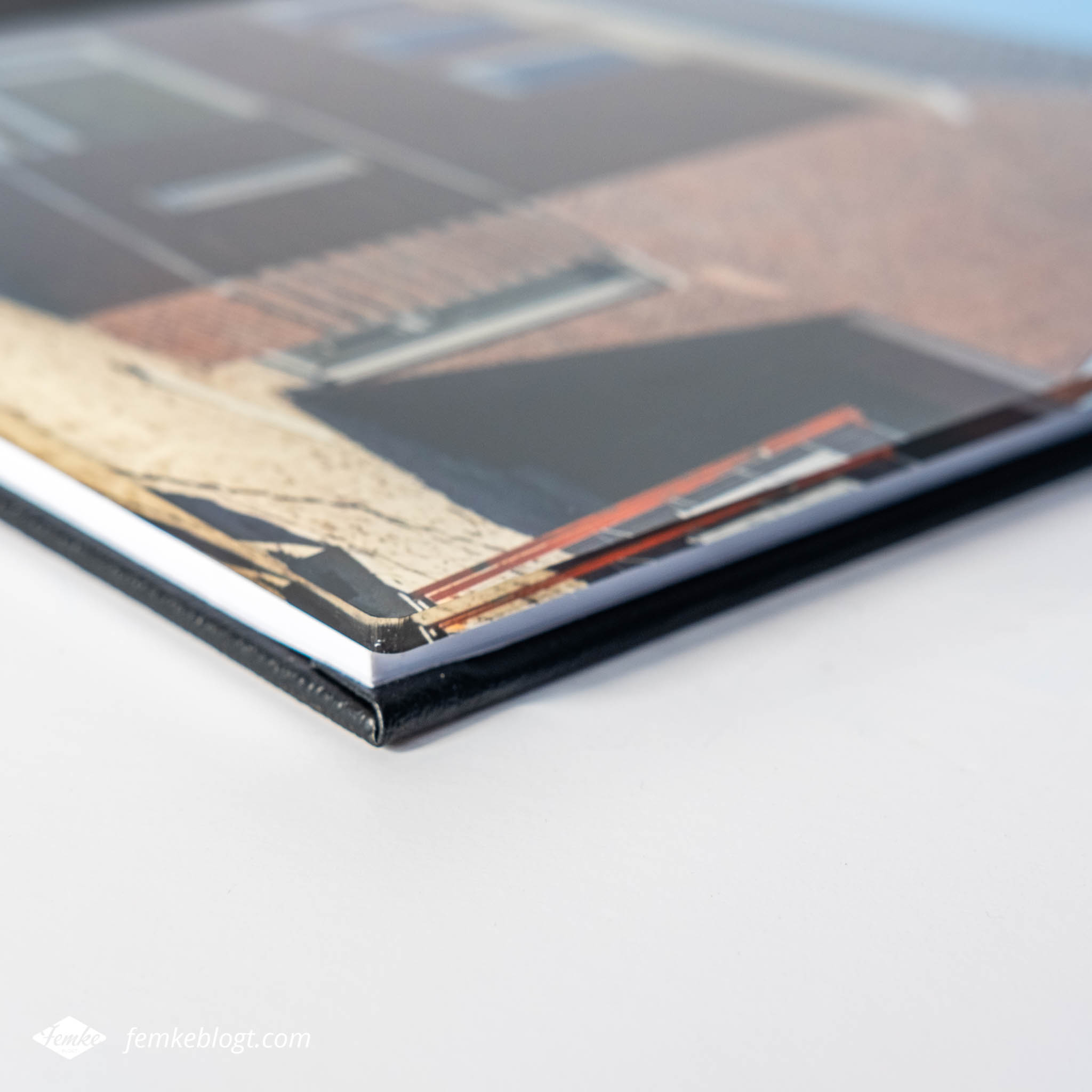 Professional Line fotoboek close-up cover