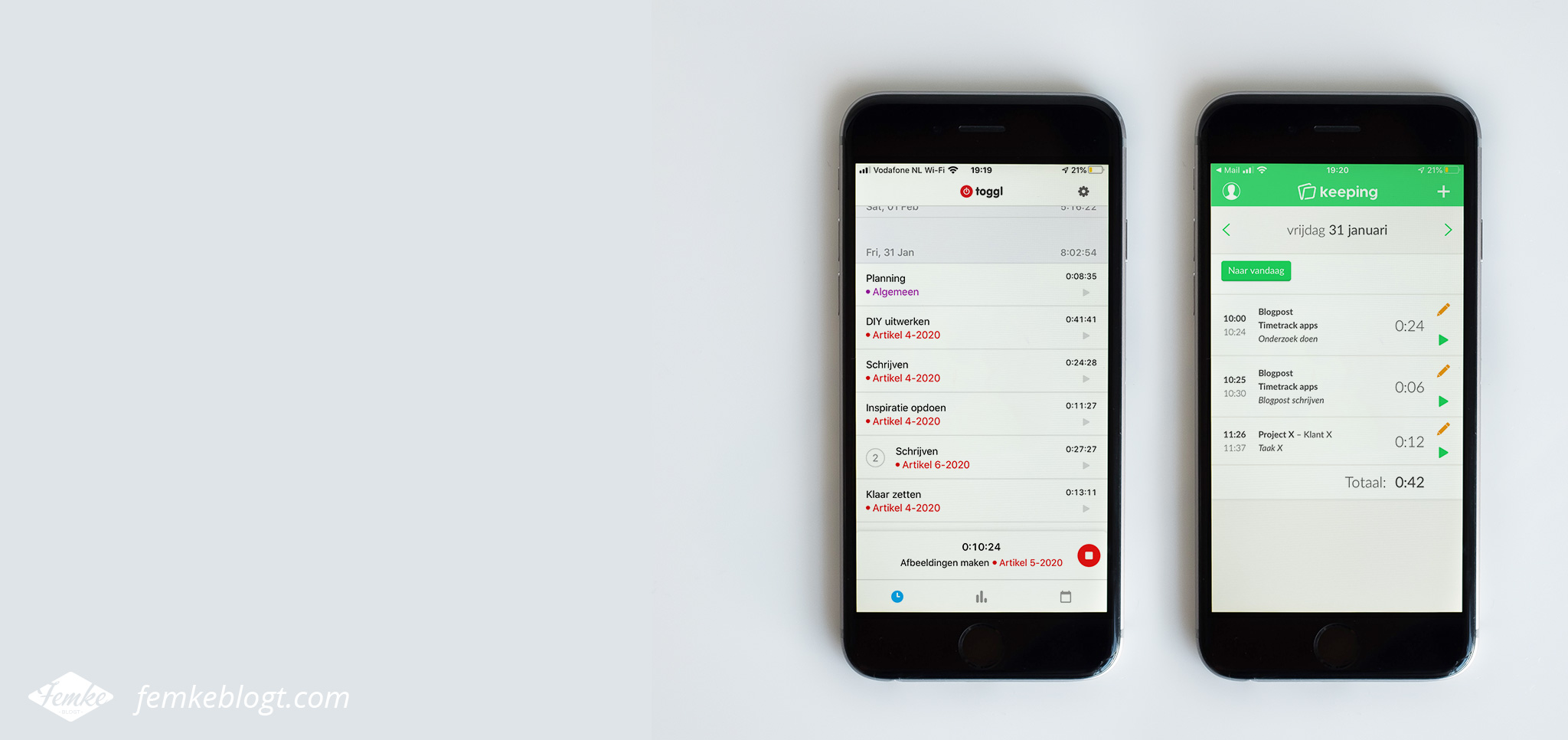 De beste gratis timetrack app