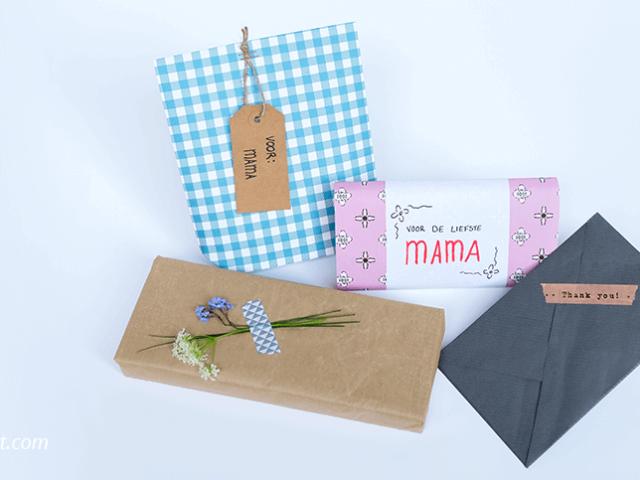4 Inpak tips voor je moederdag cadeau