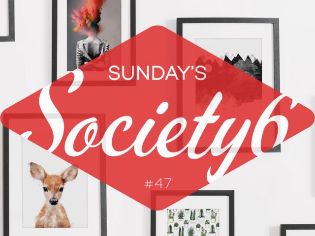 Sunday's Society6 #47 | Lente