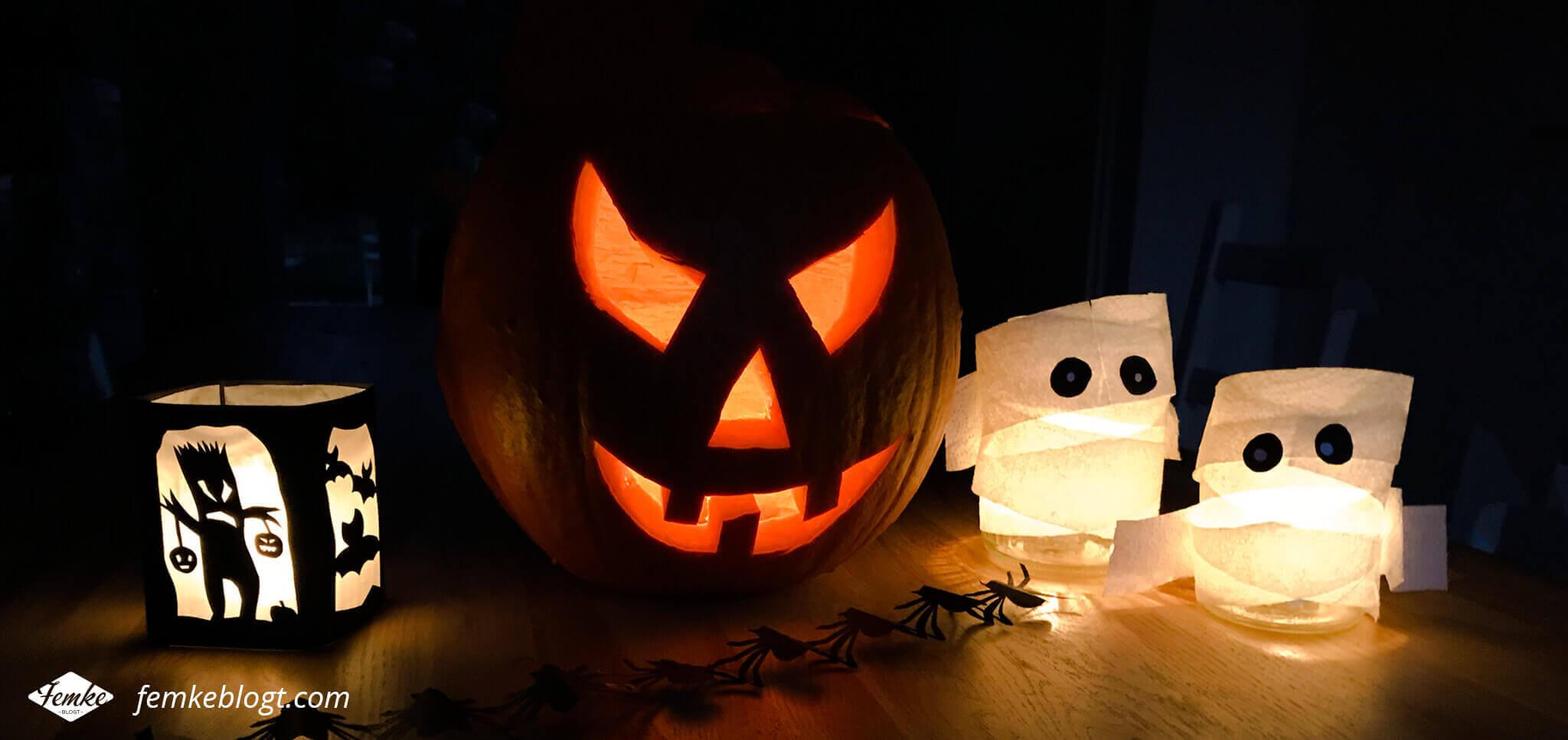 DIY Halloween decoratie