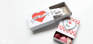 Valentijnsdag DIY | Message box