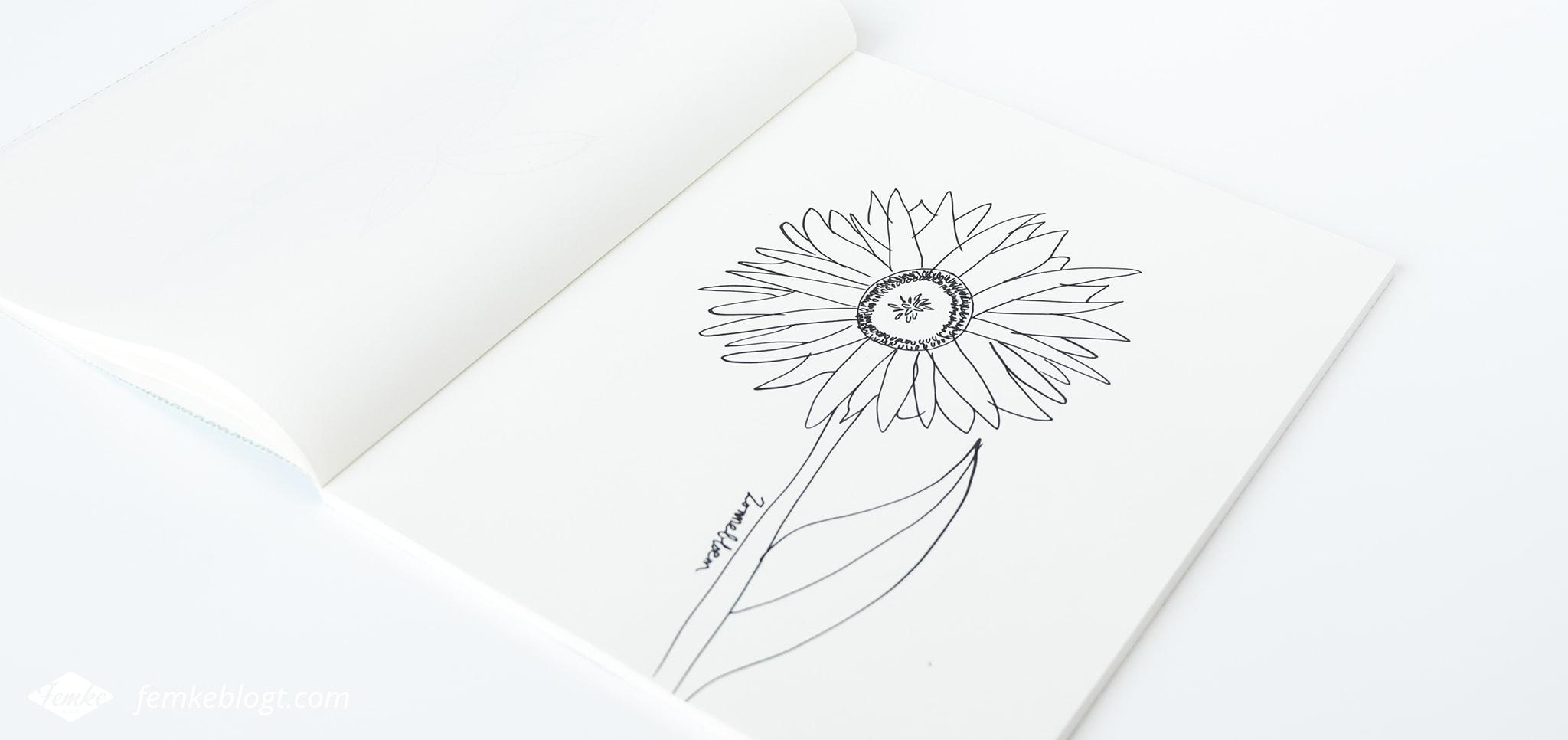31 Dagen bloemen #10 – Zonnebloem