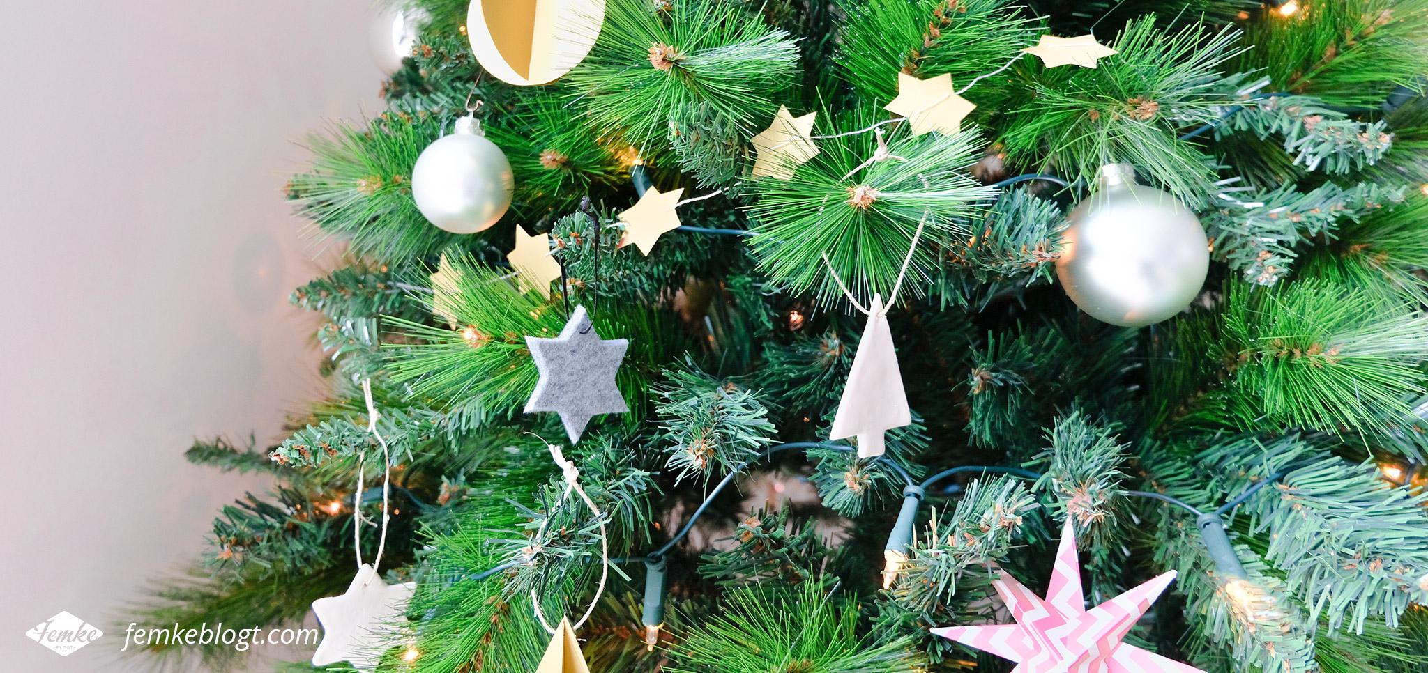 DIY kerstboomhangers
