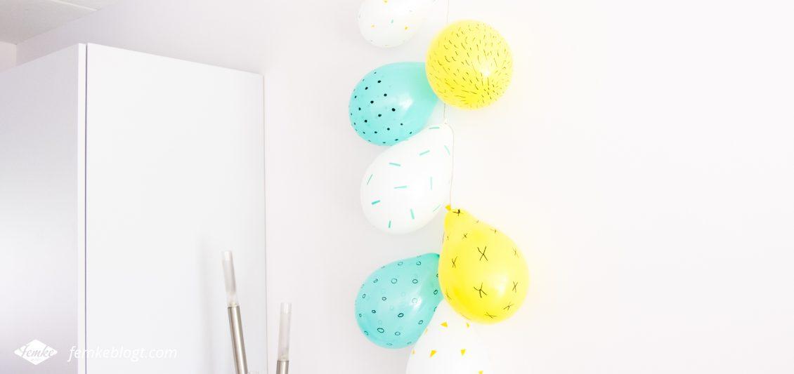 DIY | Ballonnen versieren