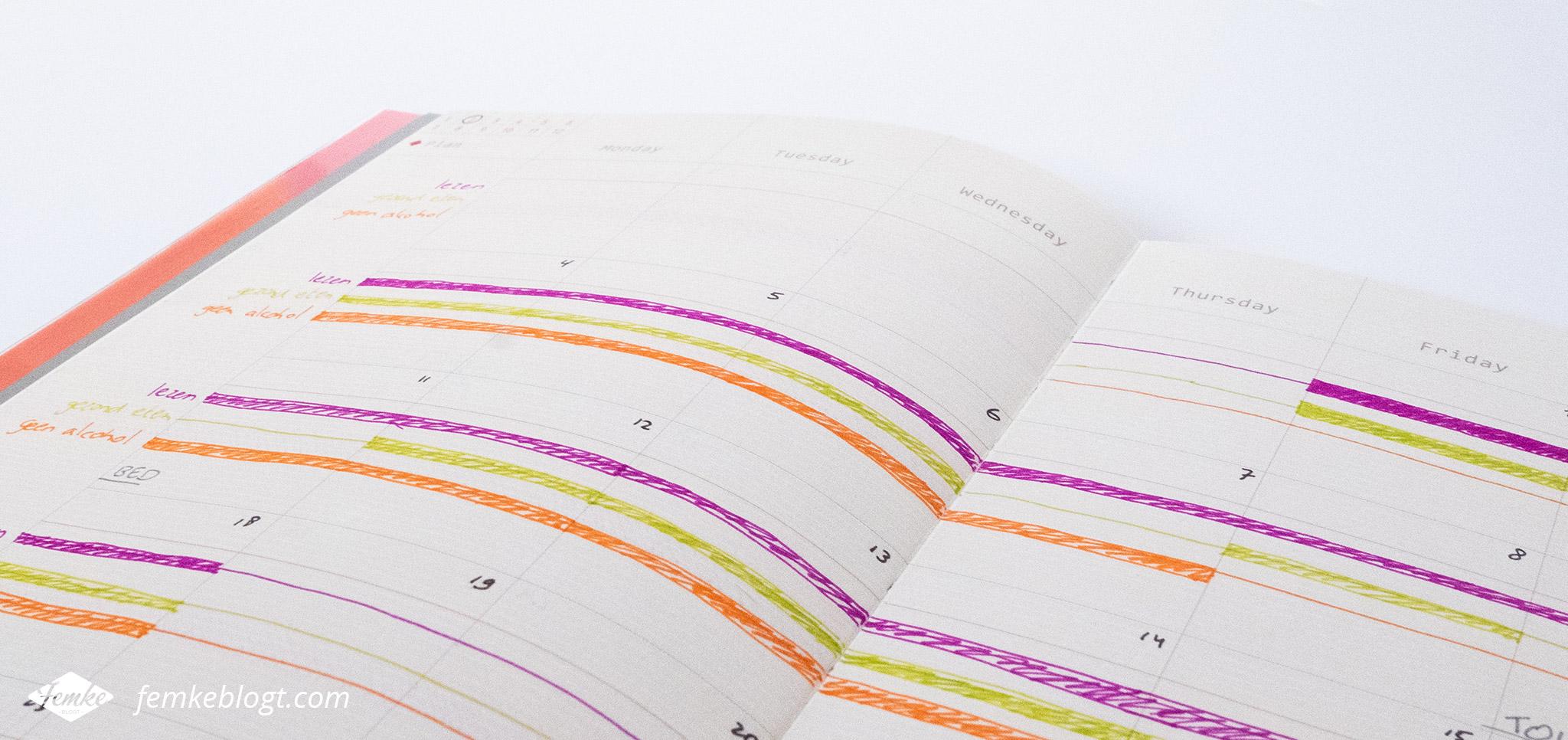 Je doelen bereiken met een bullet journal