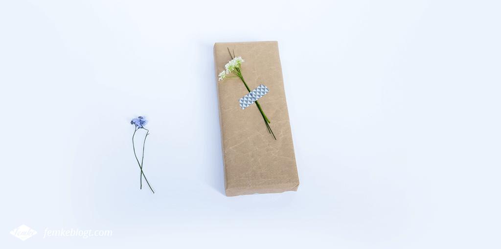 moederdag cadeau creatief inpakken
